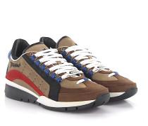 2 Sneakers 551 Nubukleder braun