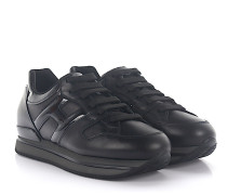 Sneaker H222 Leder Lackleder