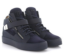 Sneaker Carter Mid Top Leder Veloursleder