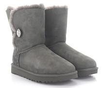 Stiefeletten Boots BAILEY BUTTON BLING Veloursleder Swarovskisteine