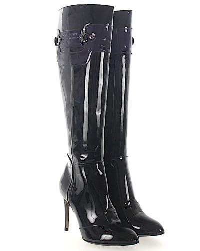 Niedrig Versandkosten Für Verkauf Dolce & Gabbana Damen Stiefel Lackleder Logo lila Mit Paypal Verkauf Online Große Überraschung Günstig Online Kauf 16AZcPC