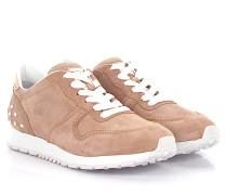 Sneaker Sportivo yo Allacciata Low Leder Veloursleder