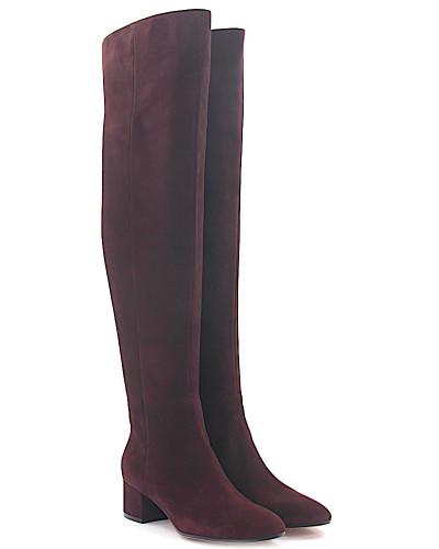 Stiefel Overknee ROLLING Mid Boot Veloursleder bordeaux