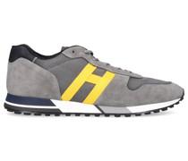 Sneaker low H383 Veloursleder