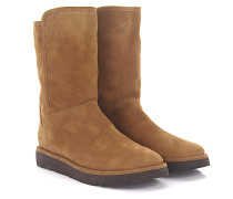 Stiefeletten Boots Abree Short 2 Veloursleder braun Lammfell