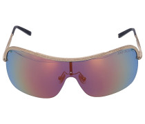 Sonnenbrille Shield MARISI Metall gold