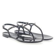 Sandalen KHATA PVC Nieten silber