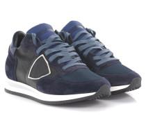 Keilsneakers Tropez L D Leder schwarz Veloursleder