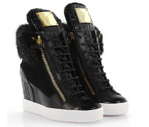 Wedge Sneaker Lamay Lorenz 75 Veloursleder Fell
