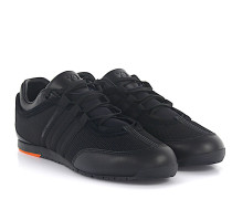 Sneaker Boxing Stoff Leder Yohji Yamamoto