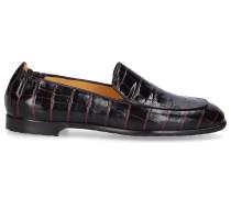 Loafer 9207 Kalbsleder Krokodillederprägung
