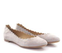 Ballerinas Lauren Veloursleder