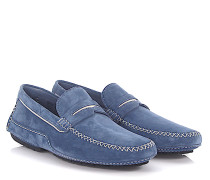 Mokassins Slipper 041962 Veloursleder