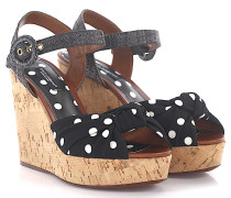 Wedge Sandalen KEIRA CADY Look gepunktet