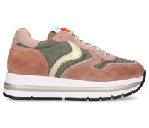 Sneaker low JULIA FUR Veloursleder