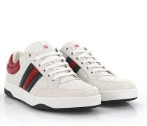 Sneakers Leder geprägt -Details