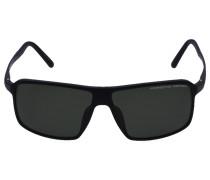 Sonnenbrille Wayfarer 8650 A Titan Acetat schwarz