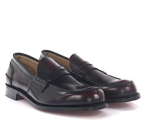 Penny Loafer TUNBRIDGE Leder bordeaux