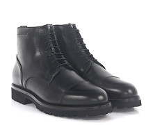 Stiefeletten Boots PRINCESS Leder rahmengenäht Lammfell