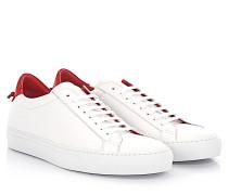 Sneaker Low Urban Street Leder rot