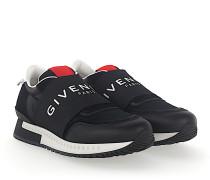 Slip-On Sneaker Nylon Mesh Leder