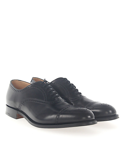 Businessschuhe Oxford Kalbsleder Lochmuster