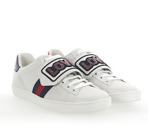Ace Sneaker Leder weiss abnehmbarem Patch LOVE