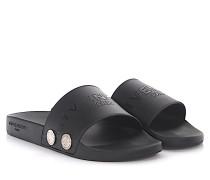 Sandalen Slide Sandal Button Kunststoff Nieten