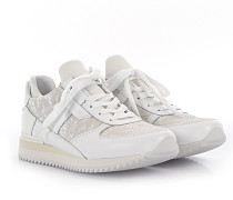 Dolce & Gabbana Sneakers Leder Spitze weiss