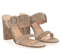 Sandalen LEE Veloursleder
