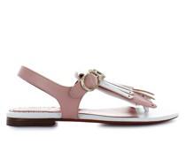 Sandalen 57015 Kalbsleder weiß rosa