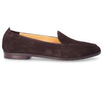 Loafer 8983 Veloursleder Logo