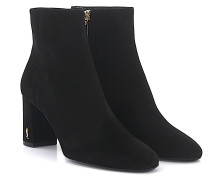 Ankle Boots LOLOU 75 Veloursleder grau