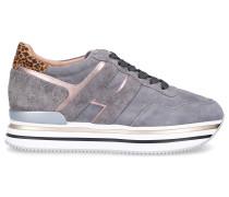 Sneaker low H222 Veloursleder Logo -kombi
