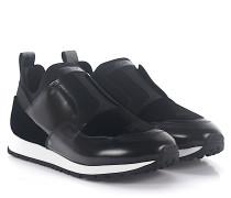 Sneaker Slip-On U430HG Glattleder Samt