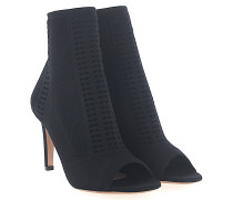 Ankle Boots VIRES 85 Stoff Stretch Lochmuster