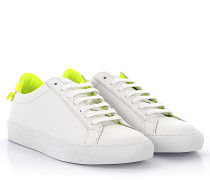 Sneakers Urban Knots Leder weiss neon