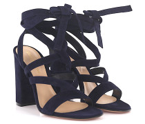 High Heel Sandale Janis High Velousleder