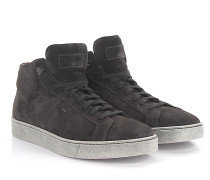 High Sneakers 14357 Veloursleder