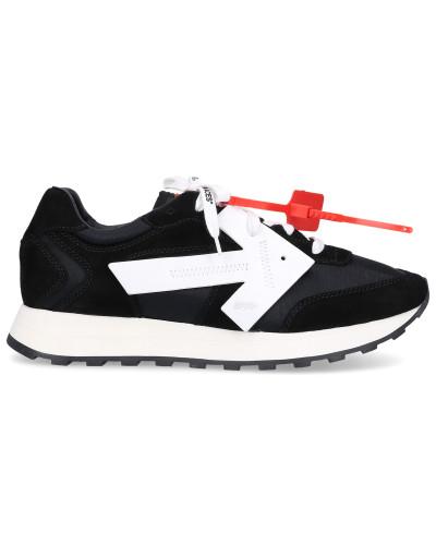 Sneaker low HG-RUNNER Polyamid Veloursleder Logo