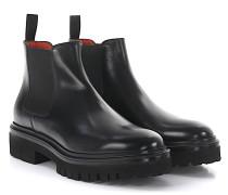 Stiefeletten Boots 55806 Plateau Leder