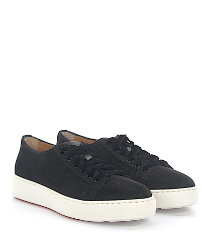 Santoni Damen Sneaker 60248 Stoff Glitzer