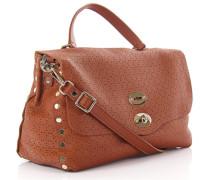 Handtasche Schultertasche Postina M Arabesque Leder design-perforiert