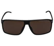 Sonnenbrille Wayfarer 8653 C Acetat schwarz