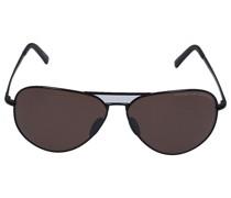 Sonnenbrille 8508 V Metall schwarz