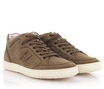 Sneakers H168 Nubukleder perforiert
