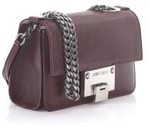 Handtasche Schultertasche Rebel Soft Mini Leder bordeaux geprägt
