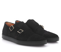 Sneakers Doppel-Monk 15021 Veloursleder