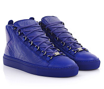 High Top Sneaker Pelle Leder