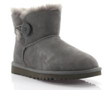 Stiefeletten Boots Mini Bailey Button Veloursleder Schafsfell